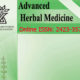 advanced herbal medicine